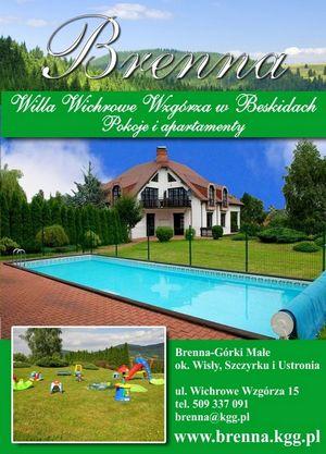 Brenna - Willa Wichrowe Wzgórza - Pokoje i apartamenty